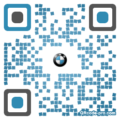 QR code with logo 1g0b0