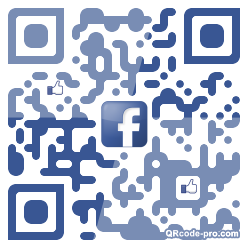 QR code with logo 1gas0