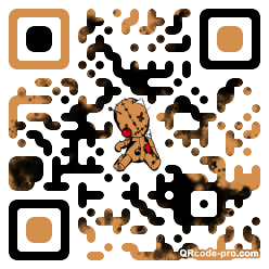 QR code with logo 1h050