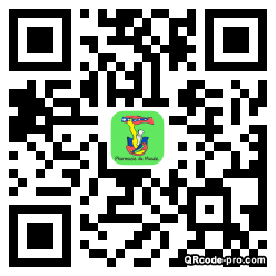 QR code with logo 1h0b0