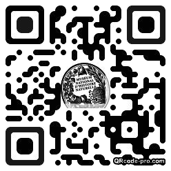 QR code with logo 1hDC0