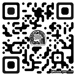 QR code with logo 1hDG0