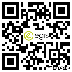 QR code with logo 1hSi0