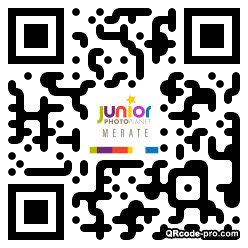 QR code with logo 1hZ90