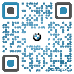 QR code with logo 1hd40