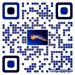 QR code with logo 1heS0