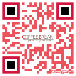 QR code with logo 1hiy0