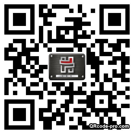 QR code with logo 1hjv0
