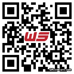 QR code with logo 1hrv0