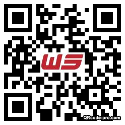 QR code with logo 1hrv0