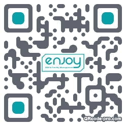 QR code with logo 1hs00