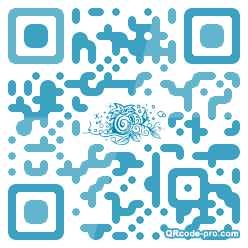 QR code with logo 1iE00