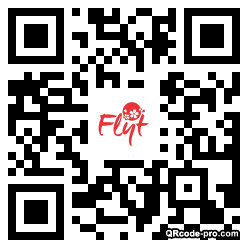 QR code with logo 1iE80