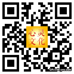 QR code with logo 1iNR0