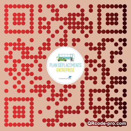 QR code with logo 1iOS0