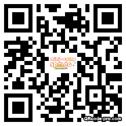QR code with logo 1iSR0