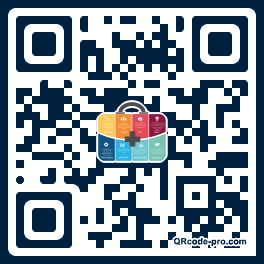 QR code with logo 1iT30