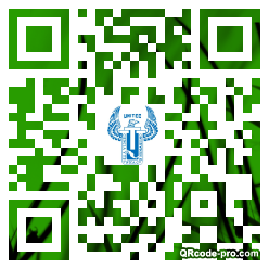 QR code with logo 1if70