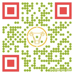 QR Code Design 1inA0