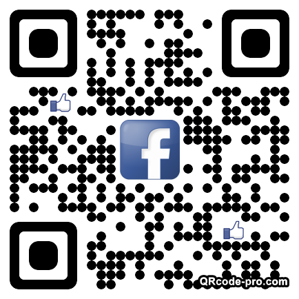 QR code with logo 1inW0