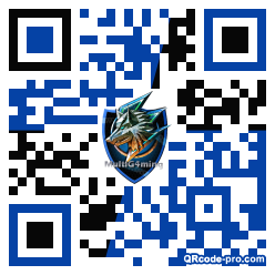 QR code with logo 1j580