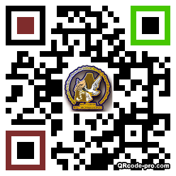 QR code with logo 1jE20