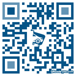 QR code with logo 1jb20