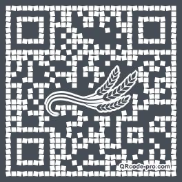 QR code with logo 1ji00