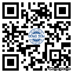QR code with logo 1jv90
