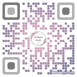 QR code with logo 1k8m0
