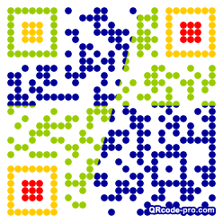 QR code with logo 1kP40