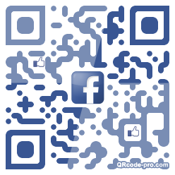 QR code with logo 1km50