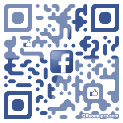 QR code with logo 1kt30