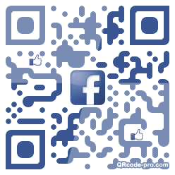 QR code with logo 1l3K0