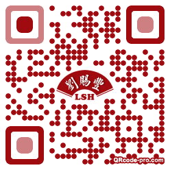 QR code with logo 1lv90