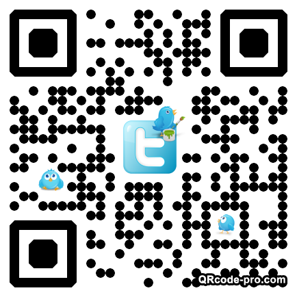 QR code with logo 1m180