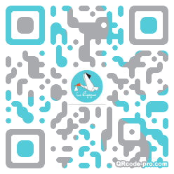 QR code with logo 1m2A0