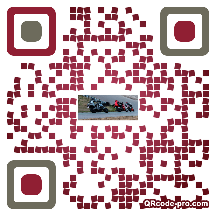 QR code with logo 1m2d0