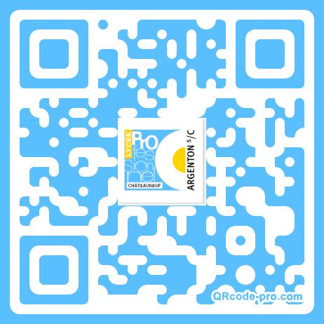 QR code with logo 1m6V0
