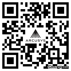 QR code with logo 1mFF0