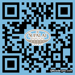 QR code with logo 1mLH0