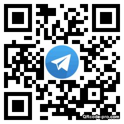 QR code with logo 1mR30