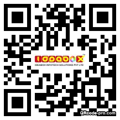 QR code with logo 1mZ20