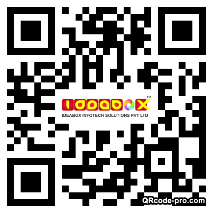 QR code with logo 1mZ20