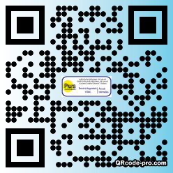 QR code with logo 1mbN0