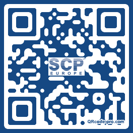 QR code with logo 1meR0