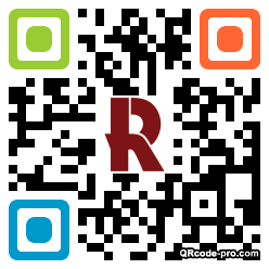 QR code with logo 1miQ0