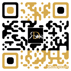 QR code with logo 1mm50
