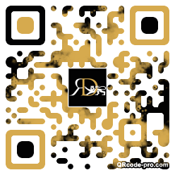 QR code with logo 1mm90