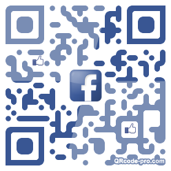 QR code with logo 1mmt0